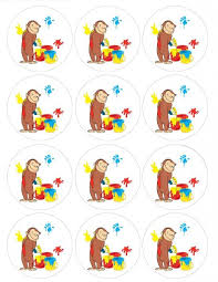 curious george cupcakes buy single source party supply curious george cupcakes toppers