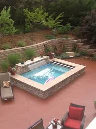 Patio That Turns Into Pool Spool Spa Plus Pool This Is Our Spool It Is An Oversized