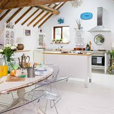 oak white kitchen with shabby chic idea shabby chic kitchen