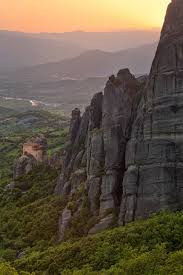 Meteora Greece Map by Holy Monastery Of St Nicholas Anapafsas The Smallest Monastery