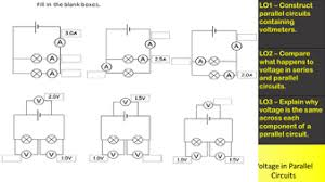 ks3 voltage in parallel circuit by breckslfc teaching resources