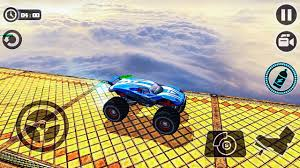 3d monster truck stunt racing crazy monster truck legends 3d android gameplay fhd youtube