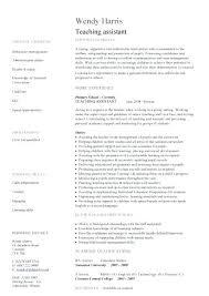 sample resume teacher assistant teacher assistant resume sample