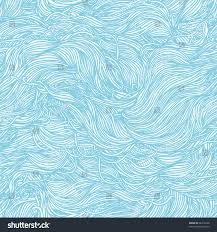 abstract light blue handdrawn pattern waves stock vector 90318220