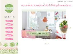 home decor blog wordpress design page title