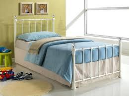 single iron bed frame 6 small single satin black metal bed frame