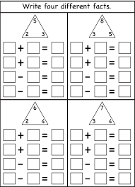 fact family multiplication and division worksheets koogra