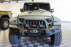jeep wrangler front grill wildboar grille arb front bumper baja designs onyx 6 light bar