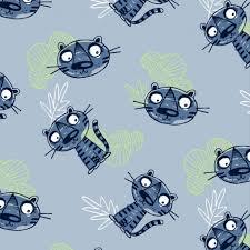 light blue jersey fabric organic cotton jersey fabric tigers in light blue jelly fabrics