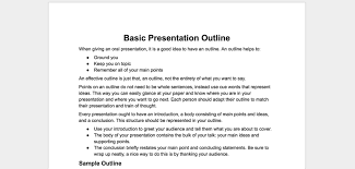 4 outline templates templates vip