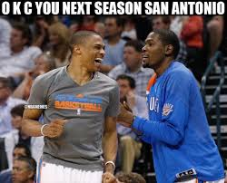 Okc Memes - 15 best memes of the oklahoma city thunder knocking out the san