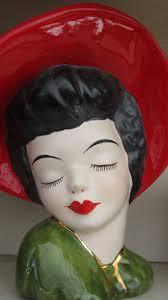 129 best ladies head planters images on pinterest head planters