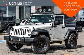 car jeep 2016 used 2016 jeep wrangler sport for sale in toronto on vin