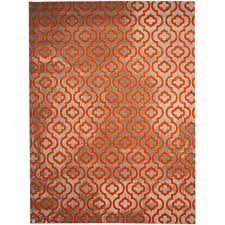 Orange And Brown Area Rugs Safavieh Porcello Light Grey Orange 9 Ft X 12 Ft Area Rug