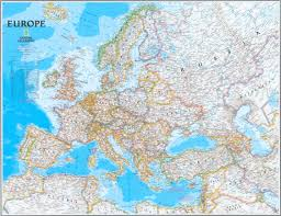 Geographic Map Of Europe by National Geographic U0027s Europe Map Zoom