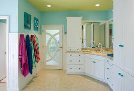 Blue Green Bathroom Ideas by 15 Kids Bathroom Decor Designs Ideas Design Trends Premium