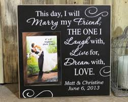 Personalized Wedding Photo Frame Aluminum Wedding Picture Frame Personalized Wedding Photo