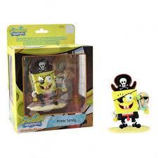 spongebob squarepants pirate vinyl figure toy collectible u2013 radar toys
