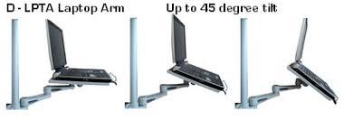 Laptop Desk Arm D Lpta Laptop Arm Tray For 35 Mm Poles