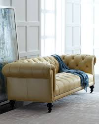 Old Hickory Tannery Chaise Old Hickory Tannery Morgan Sunshine Chesterfield Leather Sofa