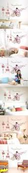 the 25 best bicycle girl ideas on pinterest fixed gear girl bicycle girl and eiffel tower wall stickers romance decoration wall poster home decor diy pink style cute for girl