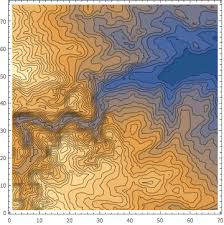 africa map elevation make an elevation map wolfram language code gallery