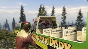 jurassic park tour car jurassic park tour bus gta5 mods com