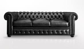 Black Leather Chesterfield Sofa Chesterfield Sofa Leather 3 Seater Black B V
