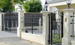 pillar fence design recherche google art deco pinterest