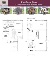 Echo Glen Bungalow Home Plan by Residences In Santa Maria Harvest Glen Residence Four