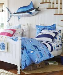 Fish Themed Comforters Boys Shark Bedding Shark Bite Collection