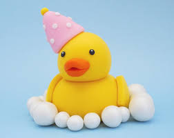 duck cake shopkins birthday cake topper fondant shopkins cake