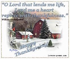 happy thanksgiving shakespeare message poems christian prayers