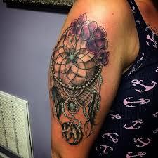dreamcatcher tattoo upper arm 80 best dreamcatcher tattoo designs meanings dive deeper 2018