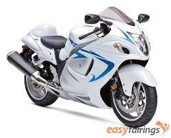 suzuki motorcycle hayabusa 2008 2013 suzuki hayabusa gsxr 1300 fairings white blue silver