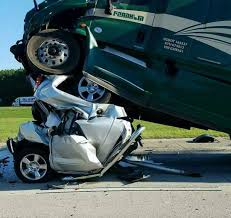 Silverado Meme - craziest picture of a silverado involved in a crash with a semi