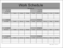 work schedule exol gbabogados co