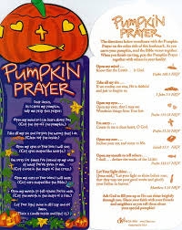 Christian Halloween Craft Pumpkin Prayer To Accompany Carving Autumn Pinterest Sunday