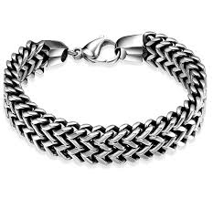 bracelet man silver stainless steel images Online shop fashion popular jewelry classic mens stainless steel jpg