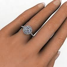 8mm ring anya ring 2 carat forever one moissanite engagement ring j