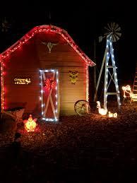christmas lights to christmas lights on the farm