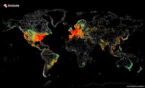 World Wide Map This World Wide Web Map Shows Every Device Connected To The Internet