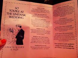 Funny Wedding Programs Funny Wedding Program Unitank Pinterest Diy Wedding U2022 2988