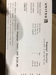 United Airlines Baggage Charge Kyle Beach Kbeachy12 Twitter