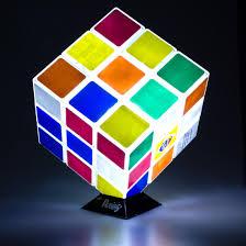 Wohnzimmerlampe Led Farbwechsel Zauberwürfel Lampe Rubiks Cube Getdigital