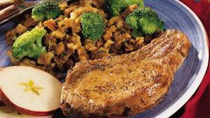 baked pork chops and stuffing recipes pork recipes