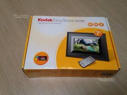 cornici digitali kodak cornice digitale kodak easyshare sv710 audio in vendita a