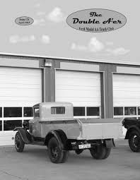 Antique Ford Truck Club - newsletters ford model aa truck club