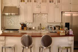 Kitchen Cabinets New York City Traditional Modern Pearl White Kitchen In New York City