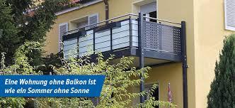 balkon stahlkonstruktion preis aluminium balkone beton balkone und stahl balkone fbs förster